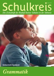 Schulkreis Sommer 2013 - Rudolf Steiner Schulen der Schweiz