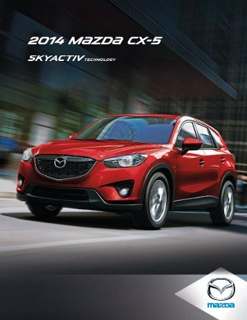 2014 M{zd{ CX-5 - Mazda Canada