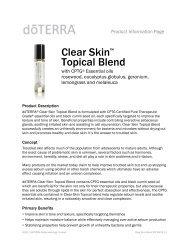 Clear Skin™ Topical Blend - dōTERRA - Essential Oils