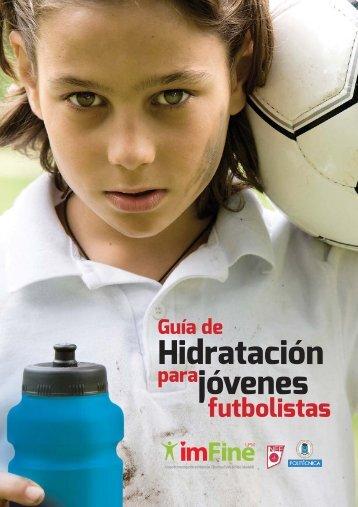 IMFINE Guia Hidratacion Futbolistas