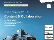 Content & Collaboration (PDF, 1,02 MB) - e-LISA academy