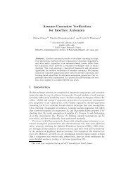 Assume-Guarantee Verification for Interface Automata - NASA
