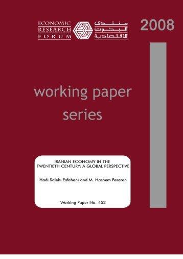 Download - Economic Research Forum