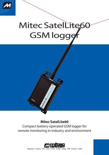 Mitec SatelLite60 GSM-logger - Mitec Instrument AB