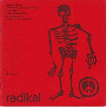 radikal 4 Februar 64