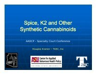 Spice, K2 and other Synthetic Cannabinoids