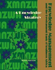 A Knowledge Strategy