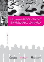 Informe de la Productividad Empresarial Canaria - Servicio de ...