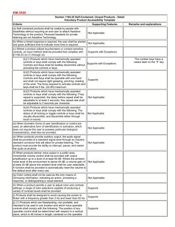 voluntary product accessibility template section 508 - voluntary product accessibility template download a sample