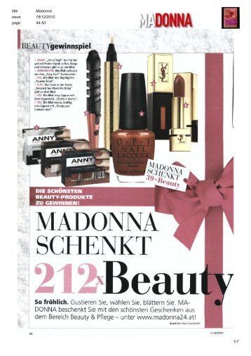 Madonna - DR. KITZINGER® Health Care GmbH