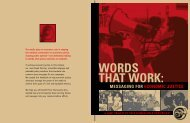 Words That Work: Messaging for Economic Justice - Racial Equity ...
