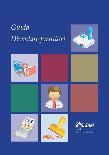 Guida Diventare fornitori fornitori - Fornitori - Enel
