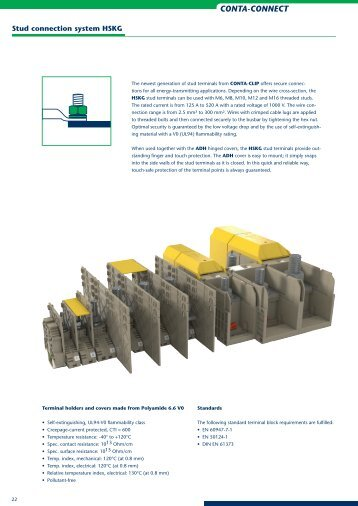 Stud Connection System HSK - CONTA-CLIP