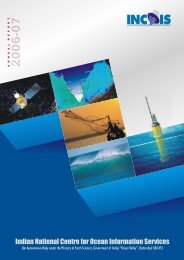 Annual Report - Indian National Centre for Ocean Information Services