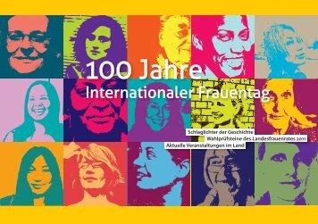 Jahre Internationaler Frauentag - Landesfrauenrat Baden ...