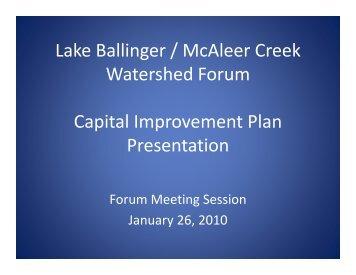 Forum CIP Presentation
