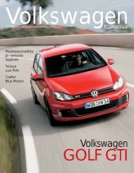 Tulostettava versio (pdf, 2,7 Mt) - Volkswagen