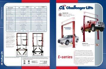Download E-10 Spec Sheet - NY Tech Supply