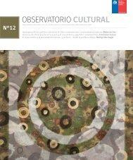 OBSERVATORIO CULTURAL - Consejo de la Cultura y las Artes