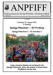 SpVgg Pittenhart – SV Prutting