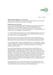 Miljøkriterier for offentlige innkjøp av bil - Zero
