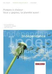 Indépendance - STIEBEL ELTRON Belgie