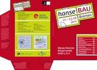 Messe Bremen Bürgerweide Halle 5 & 6 - hanseBAU