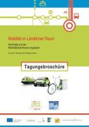 Mobilität im Ländlichen Raum - Regionalmanagement ...