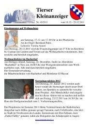 Kleinanzeiger 45/2011 (277 KB) - .PDF