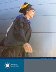 National University Brochure