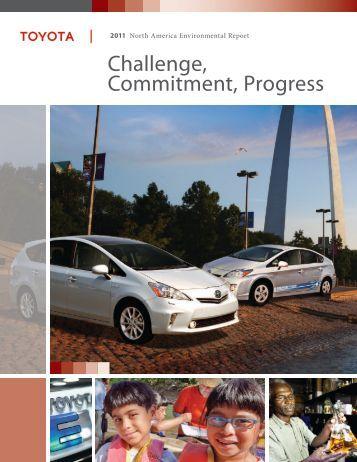 Challenge, Commitment, Progress - Toyota Canada Inc. Newsroom