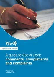 A guide to Social Work comments, compliments and complaints