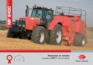 MF 8400 - Jacopin Equipements Agricoles