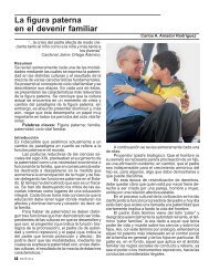 La figura paterna en el devenir familiar - Centro de Bioética