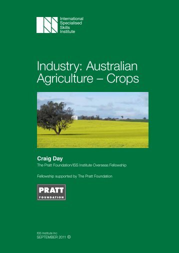 Industry: Australian Agriculture – Crops - International Specialised ...