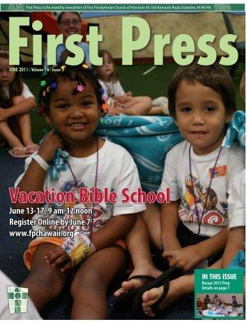 June 2011 - First Presbyterian Church of Honolulu