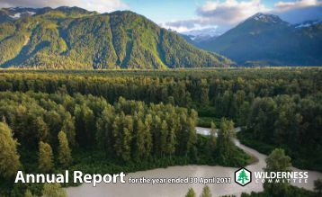 2011 Annual Report - Wilderness Committee