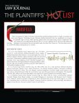 The Plaintiffs' Hot List 2010 - Hausfeld LLP - Page 2