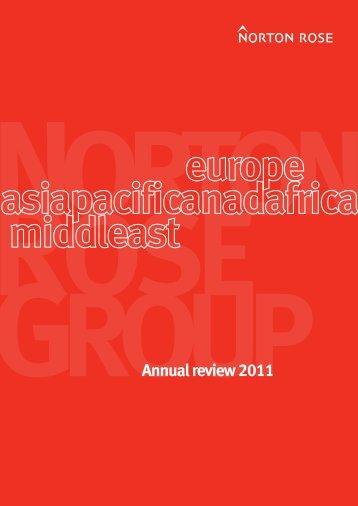Annual report 2011 - Norton Rose