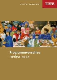 Programmvorschau Herbst 2012