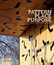 PATTERN PLACE PURPOSE - Black Dog Publishing