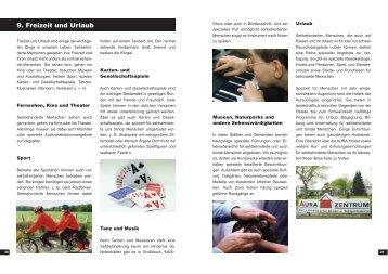 Teil 2 - Blinden- und Sehbehindertenverein Südbaden eV