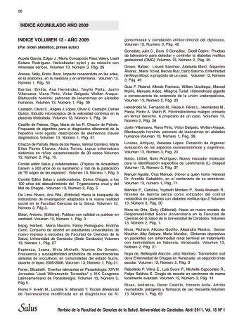 MONTAJE SALUS 15-1 - Portal de Revistas Electrónicas ...