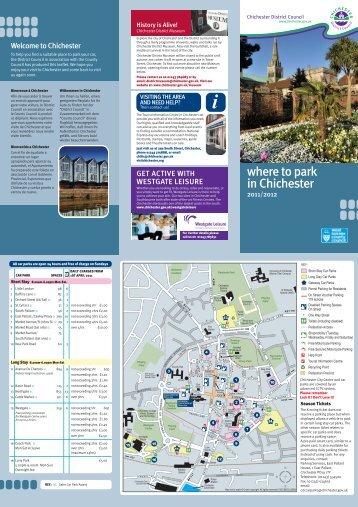 Car Parks Leaflet - Chichester Cathedral