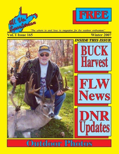 BUCK Harvest - Wvasportsman.net