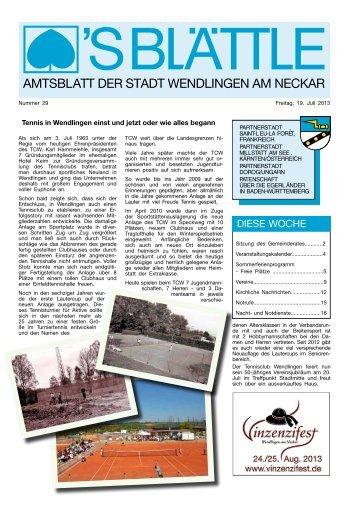 Ausgabe Nr. 29 vom 19. Juli 2013 (PDF, 6.306 KB) - Stadt ...