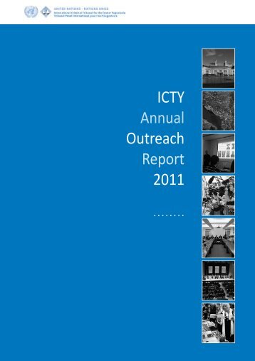 ICTY Annual Outreach Report 2011