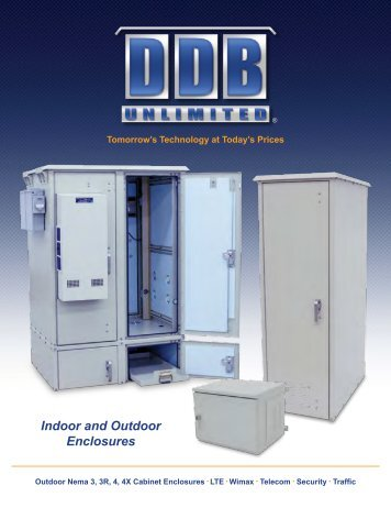 (30 RU) Outdoor Enclosure - DDB Unlimited, Inc.