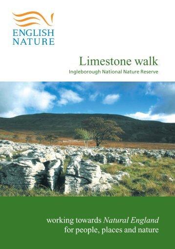 """""""Limestone Walks"""" leaflet (PDF, 923 kb) - Natura 2000"""