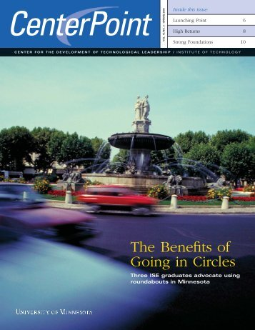 Spring 2005 - Technological Leadership Institute - University of ...